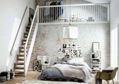 Dormitorio reformado zona Ruzafa