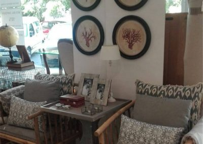 Ambiente muebles bambú